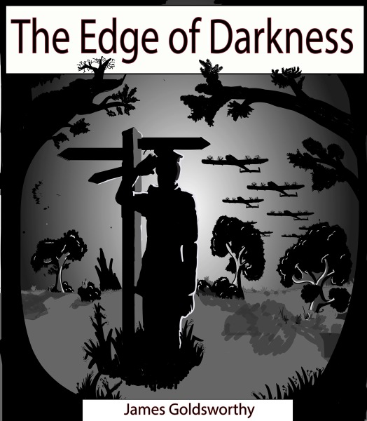 Book cover of The Edge of Darkness by James Goldsworthy